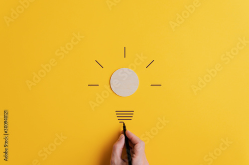 Obraz Vision and idea concept - fototapety do salonu