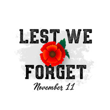 Remembrance Day November 11 Ty...
