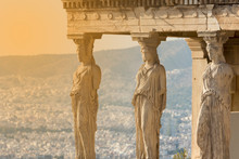 The Karyatides Statues