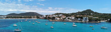 Panoramic Image Coastline Of S...