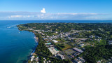 Arecibo is a municipality on the northern coast of Puerto Rico, on the shores of the Atlantic Ocean, located north of Utuado and Ciales; east of Hatillo; and west of Barceloneta and Florida.