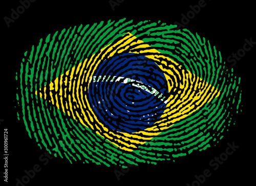 Impronta brasiliana Slika na platnu