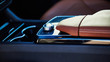 Leinwandbild Motiv Luxury car interior details.