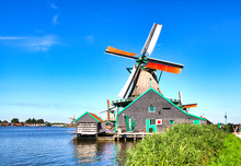 Traditional Dutch Windmills Of...