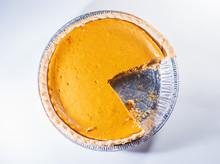 Slice Missing From Pumpkin Pie