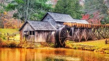Mabry Mill In The Shenandoah National Park
