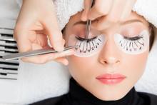 Eyelash Extension Procedure. M...