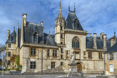 Slika na platnu Jacques Coeur palace, Bourges, France