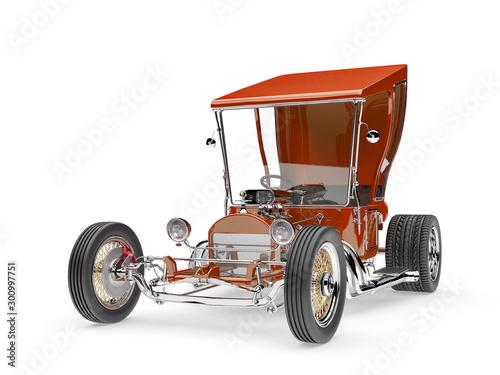 Fotografie, Tablou no branded vintage car