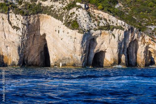 Blue Caves, Zakynthos Grottoes in Greece #301001903