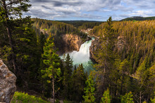 Upper Falls Of The Yellowstone...