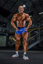 Bodybuilding In Progress. Youn...