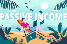 Passive Income - Young Man Ear...