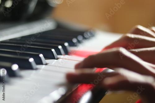 Fotografia, Obraz  Piano hands