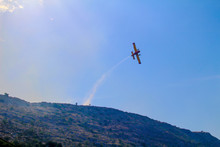 Fire Fighting Planes In Split, Croatia