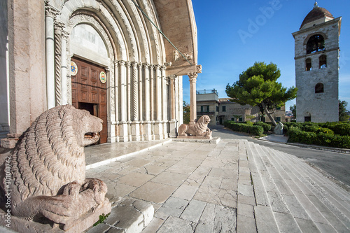 Photo At the Duomo Cathedral San Ciriaco in Ancona Marche Italy