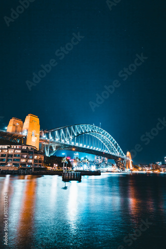 Recess Fitting Sydney Sydney Skyline at Night