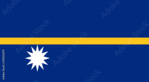 Tela  The flag of Nauru was officially adopted on January 31, 1968