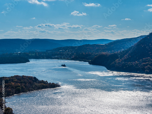 Fotografía View from the famous Breakneck Ridge trail in Upstate New York