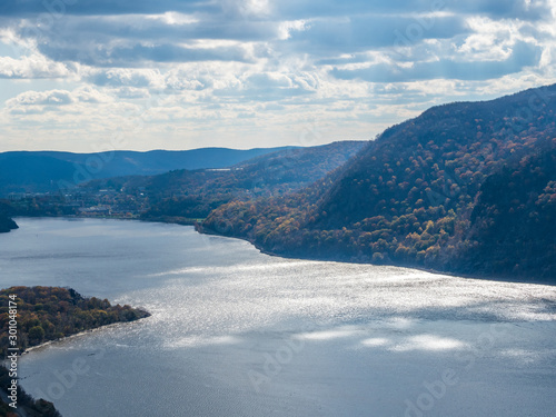 Cuadros en Lienzo View from the famous Breakneck Ridge trail in Upstate New York