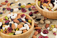 Trail Mix, Nuts And Dried Frui...