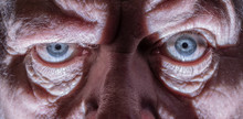 Close-up Of The Face Of An Eld...