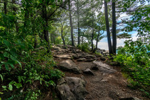 Hiking In Devil's Lake State P...