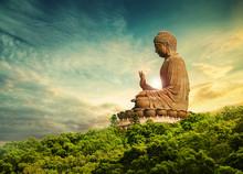 Buddha Statue Lantau Island Ho...