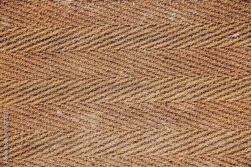 Obraz Old terracotta mat, closeup photo - fototapety do salonu