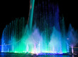 canvas print picture Dancing fountain of green in the park