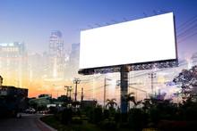 Billboard Blank For Outdoor Ad...