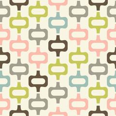 Fototapetamid century style seamless pattern