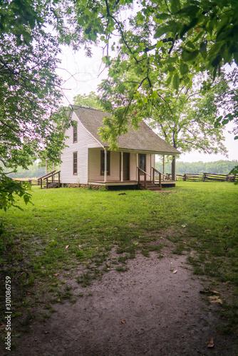 Obraz George Washington Carver's Childhood Home at his National Monument - fototapety do salonu