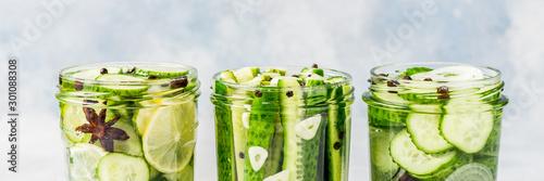 Obraz Canning Cucumbers - fototapety do salonu