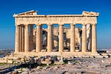 The Parthenon Temple In Acropo...