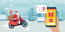 Santa Claus And Delivery App