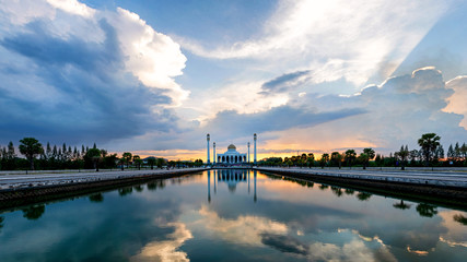 Songkhla Central Mosque wit...