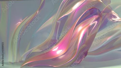 Beautiful, light, elegant background. 3d illustration, 3d rendering. #301118133