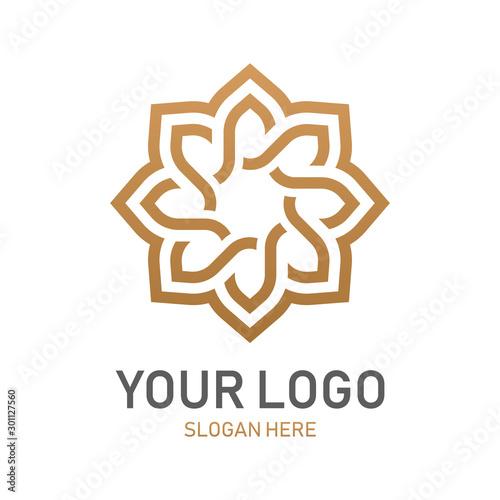 Abstract premium luxury logo design Fototapet