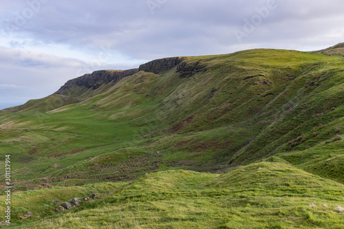 Photo  Sallagh Braes, HBO TV Series Game of Thrones filming location, County Antrim, No