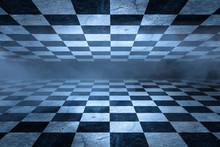 Black And White Checker Floor ...