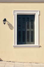 Window With Shutters At Plaka Athens Greece