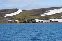 Scientific Station In Antarctica