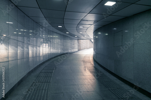 pedestrian tunnel Wallpaper Mural