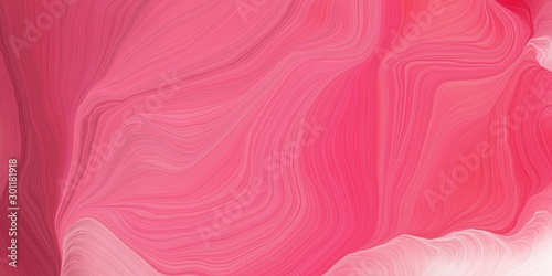 curved speed lines background or backdrop with pale violet red, pink and pastel magenta colors. good for design texture