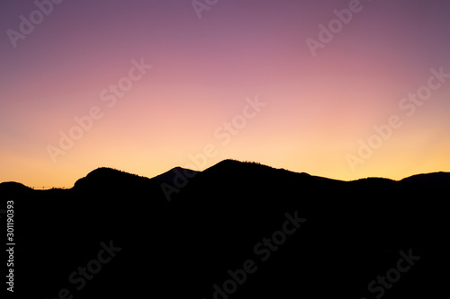 View of Adirondack Mountains and High Peaks on countryside, beautiful organic farmstead with stunning view, hiking in the Mountains, Healthy lifestyle , Mountains at sunset, perfect lighting on peaks