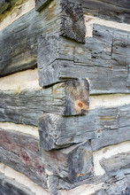 Detail Of A Dovetailed Corner ...