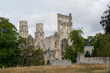 the old abbey and Benedictine monastery at Jumieges in Normandy in France