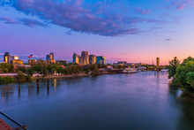 Skyline Of Sacramento, Califor...