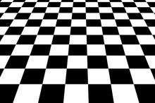 Black And White Squares Checke...